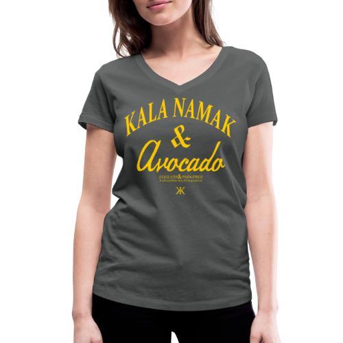 KALA NAMAK & AVOCADO /G - Frauen Bio-T-Shirt mit V-Ausschnitt von Stanley & Stella