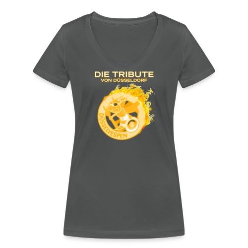 DV Die Tribute Shirt png - Frauen Bio-T-Shirt mit V-Ausschnitt von Stanley & Stella