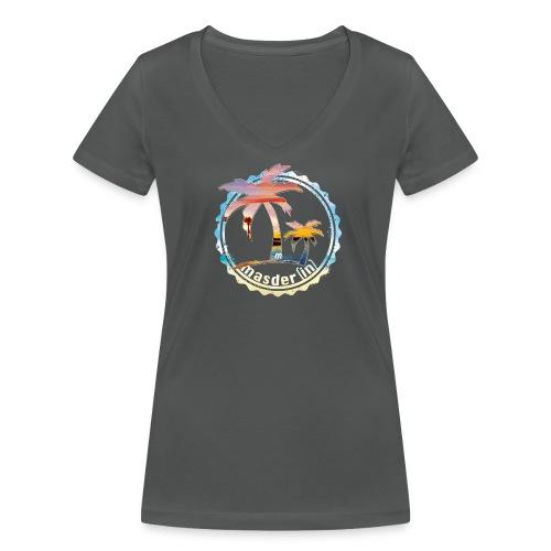 Masderin Malle HG - Frauen Bio-T-Shirt mit V-Ausschnitt von Stanley & Stella