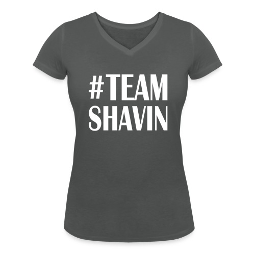 TeamShavin - Frauen Bio-T-Shirt mit V-Ausschnitt von Stanley & Stella