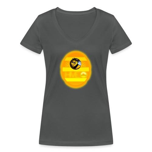 Herre T-Shirt - Med logo - Økologisk Stanley & Stella T-shirt med V-udskæring til damer