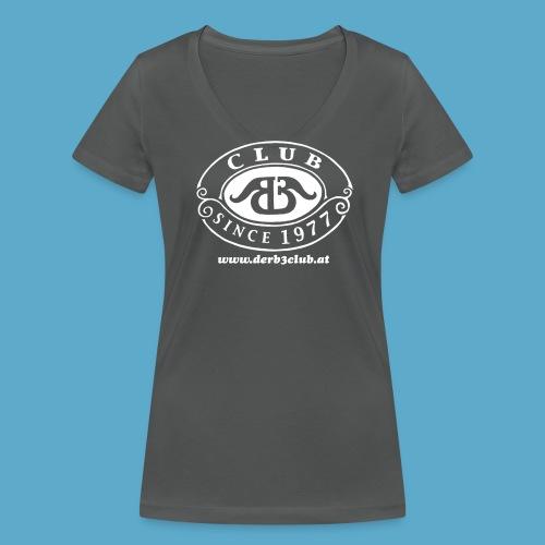 B3Club weiß groß png - Frauen Bio-T-Shirt mit V-Ausschnitt von Stanley & Stella