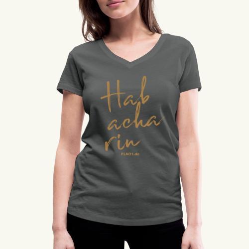Habacharin - Frauen Bio-T-Shirt mit V-Ausschnitt von Stanley & Stella