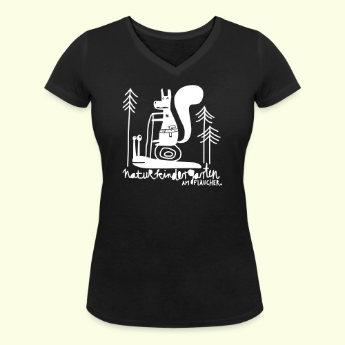 eichnoernchen - Frauen Bio-T-Shirt mit V-Ausschnitt von Stanley & Stella