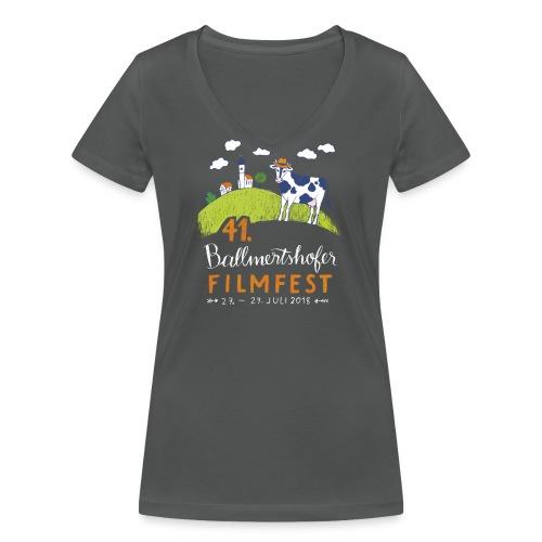 41. Filmfest - Frauen Bio-T-Shirt mit V-Ausschnitt von Stanley & Stella