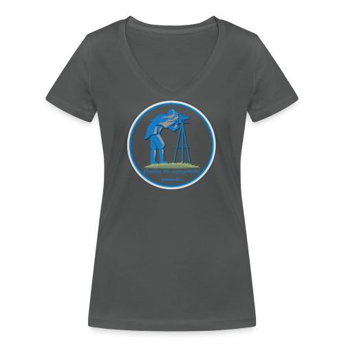 Logo Capture the Moment - Women's Organic V-Neck T-Shirt by Stanley & Stella