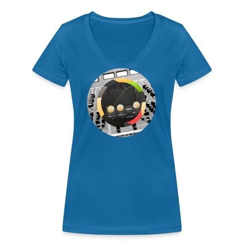 FabFilter Pro-C 2 Circle - Women's Organic V-Neck T-Shirt by Stanley & Stella