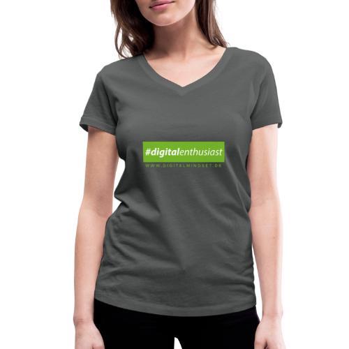 #digitalenthusiast - Frauen Bio-T-Shirt mit V-Ausschnitt von Stanley & Stella