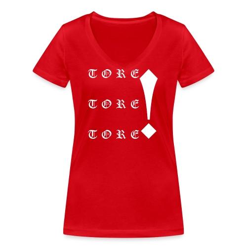 Tore! Tore! Tore! - Frauen Bio-T-Shirt mit V-Ausschnitt von Stanley & Stella