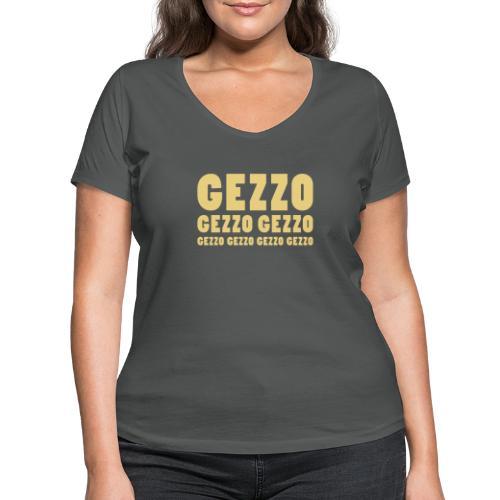 gezzo - Frauen Bio-T-Shirt mit V-Ausschnitt von Stanley & Stella
