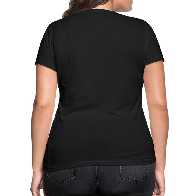 """Vorschau: Ma sogt ned afoch """"I hob kan Hunga"""" zua Oma - Frauen Bio-T-Shirt mit V-Ausschnitt von Stanley & Stel"""
