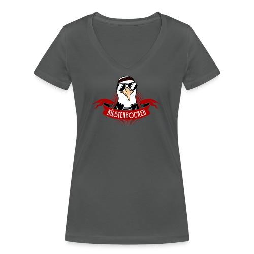 Küstenrocker - Frauen Bio-T-Shirt mit V-Ausschnitt von Stanley & Stella