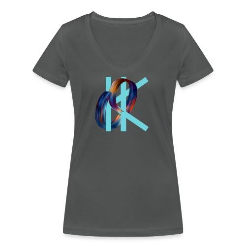 OK - Women's Organic V-Neck T-Shirt by Stanley & Stella
