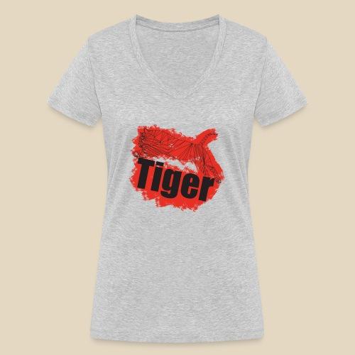 Red Tiger - T-shirt bio col V Stanley & Stella Femme