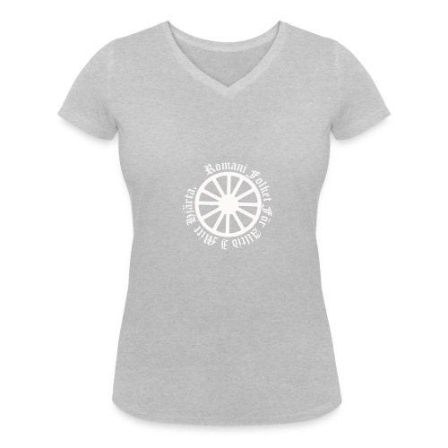 626878 2406639 lennyhjulromanifolketivit orig - Ekologisk T-shirt med V-ringning dam från Stanley & Stella