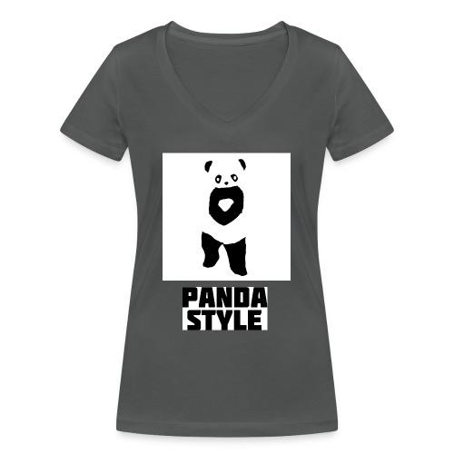 fffwfeewfefr jpg - Økologisk Stanley & Stella T-shirt med V-udskæring til damer