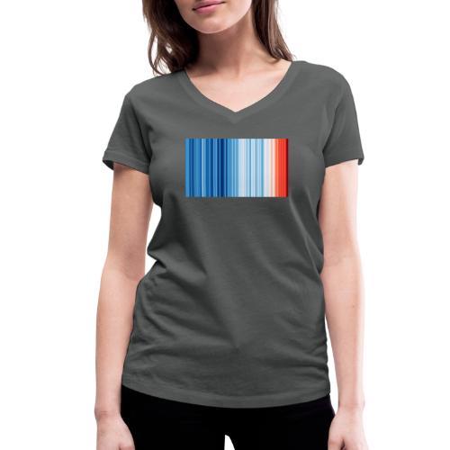 Klimawandel - Frauen Bio-T-Shirt mit V-Ausschnitt von Stanley & Stella