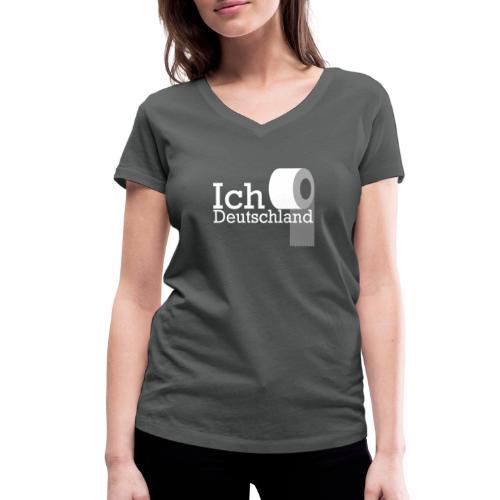 Ich liebe Deutschland - Frauen Bio-T-Shirt mit V-Ausschnitt von Stanley & Stella