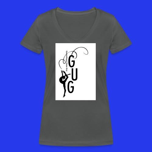 GUG logo - Frauen Bio-T-Shirt mit V-Ausschnitt von Stanley & Stella