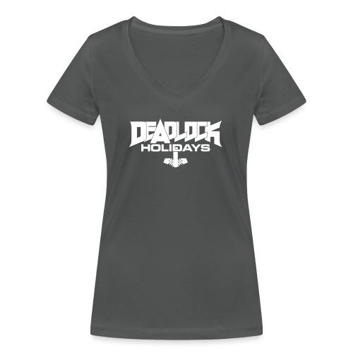 DLH Vektor - Frauen Bio-T-Shirt mit V-Ausschnitt von Stanley & Stella