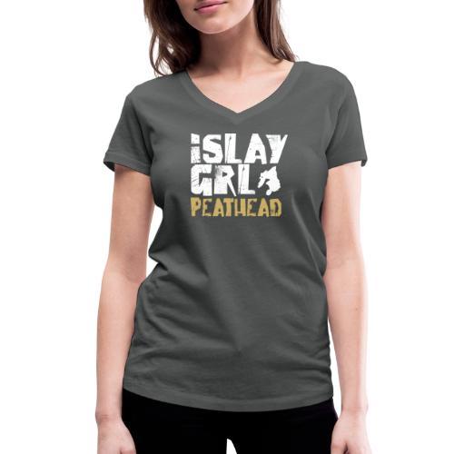 Islay Girl - Frauen Bio-T-Shirt mit V-Ausschnitt von Stanley & Stella