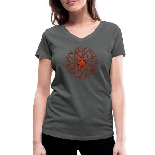 Synapse - Frauen Bio-T-Shirt mit V-Ausschnitt von Stanley & Stella