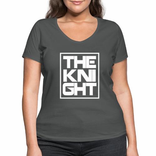 The Knight Blok kader - T-shirt bio col V Stanley & Stella Femme