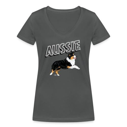 aussieaussie7 - Women's Organic V-Neck T-Shirt by Stanley & Stella