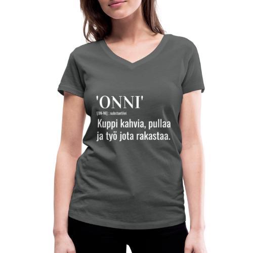 Onni Työ - Stanley & Stellan naisten v-aukkoinen luomu-T-paita