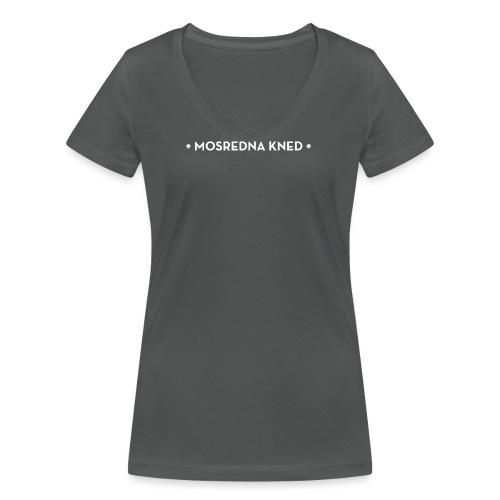 Mosredna - Vrouwen bio T-shirt met V-hals van Stanley & Stella