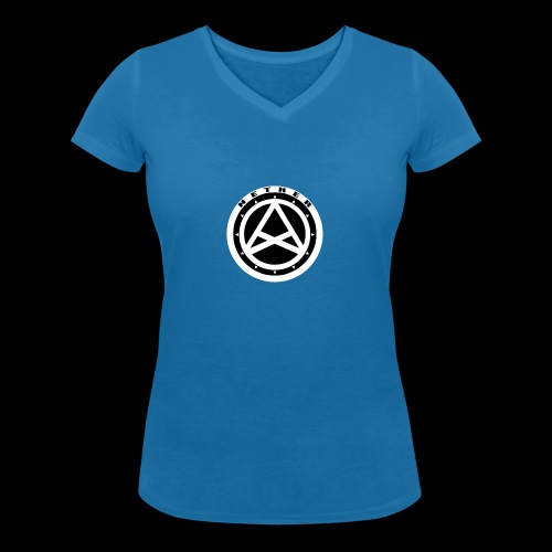 Nether Crew Black\White T-shirt - T-shirt ecologica da donna con scollo a V di Stanley & Stella