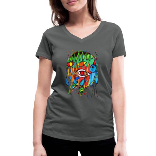 Vertrauen - Frauen Bio-T-Shirt mit V-Ausschnitt von Stanley & Stella