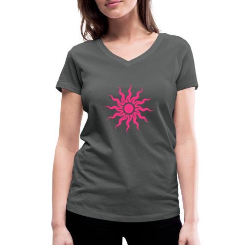 The Sun - Frauen Bio-T-Shirt mit V-Ausschnitt von Stanley & Stella
