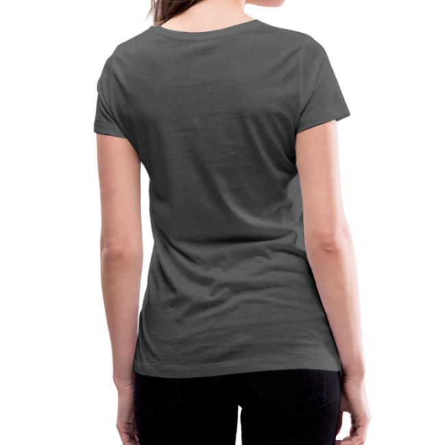 Vorschau: I bin hundsmiad - Frauen Bio-T-Shirt mit V-Ausschnitt von Stanley & Stella