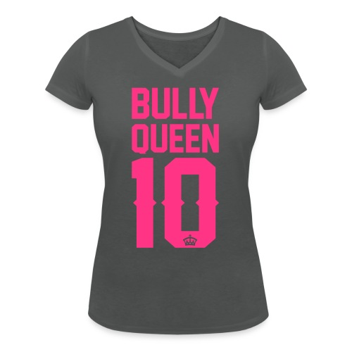 Bully-Queen - Frauen Bio-T-Shirt mit V-Ausschnitt von Stanley & Stella