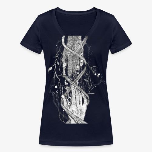 Reconnect - Narrow Transparent Edition by Rivinoya - Stanley & Stellan naisten v-aukkoinen luomu-T-paita