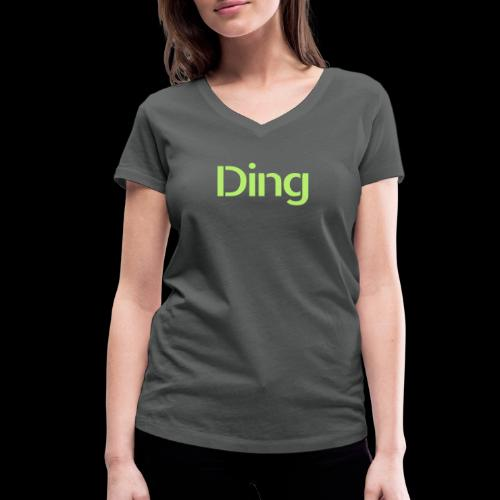 Ding - Frauen Bio-T-Shirt mit V-Ausschnitt von Stanley & Stella