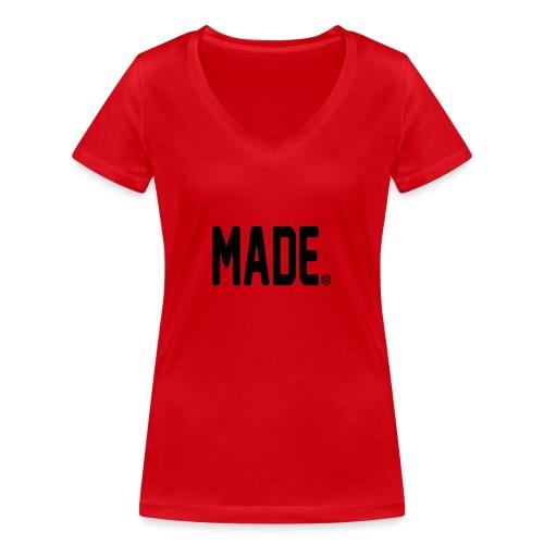 madesc - Ekologisk T-shirt med V-ringning dam från Stanley & Stella