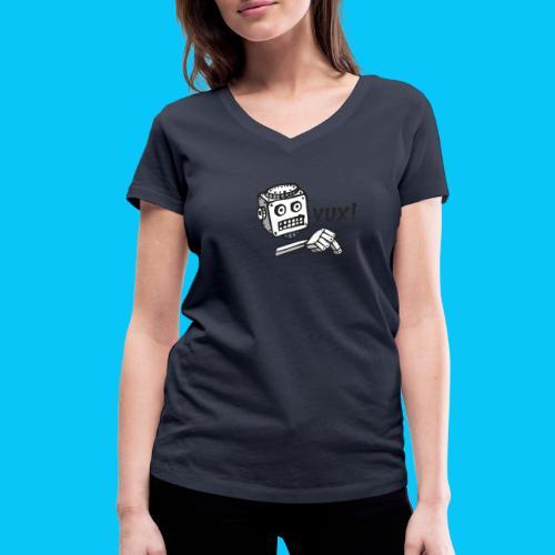 Dat Robot Vux - Vrouwen bio T-shirt met V-hals van Stanley & Stella
