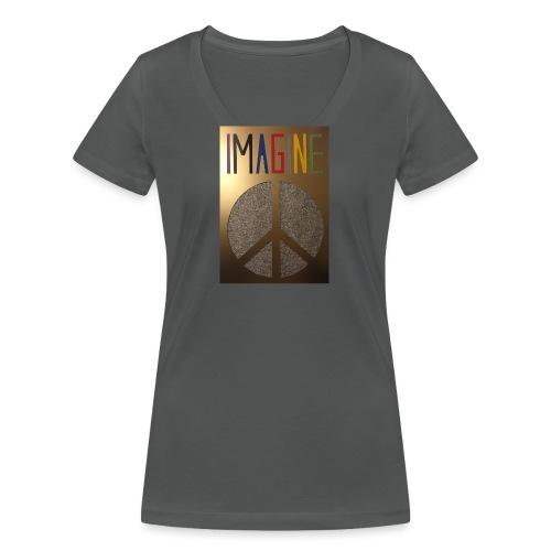 Thomas Schöggl ART IMAGINE - Frauen Bio-T-Shirt mit V-Ausschnitt von Stanley & Stella