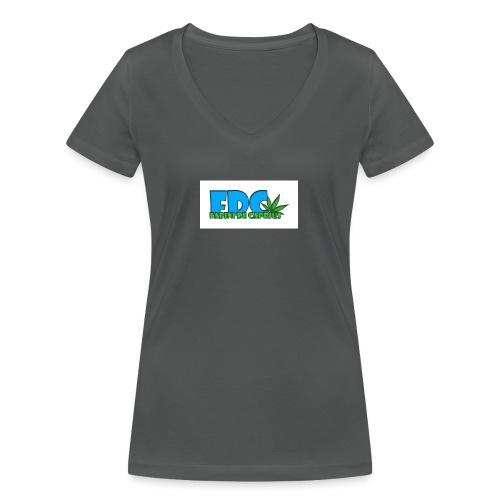 Logo_Fabini_camisetas-jpg - Camiseta ecológica mujer con cuello de pico de Stanley & Stella