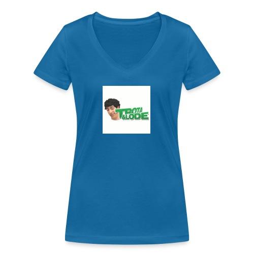 spillette - T-shirt ecologica da donna con scollo a V di Stanley & Stella