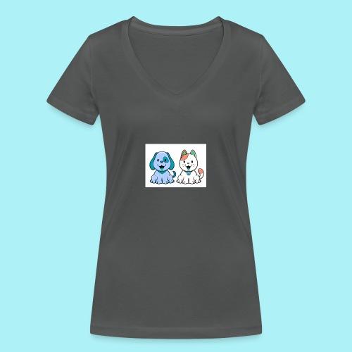 Pets animals - T-shirt bio col V Stanley & Stella Femme