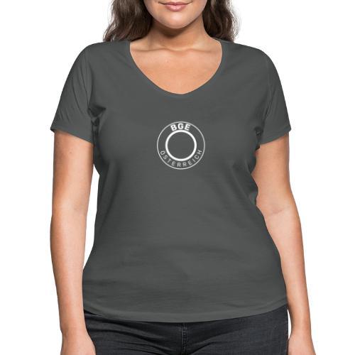 BGE-Österreich - Frauen Bio-T-Shirt mit V-Ausschnitt von Stanley & Stella