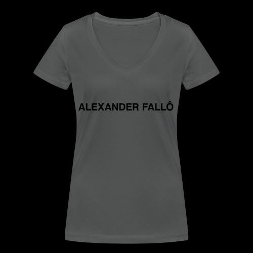 fuckboy/basicbitch tee - Økologisk T-skjorte med V-hals for kvinner fra Stanley & Stella
