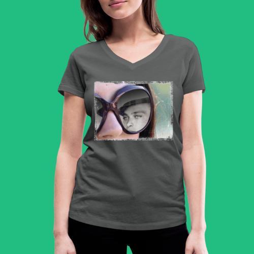 legionairelunette - T-shirt bio col V Stanley & Stella Femme