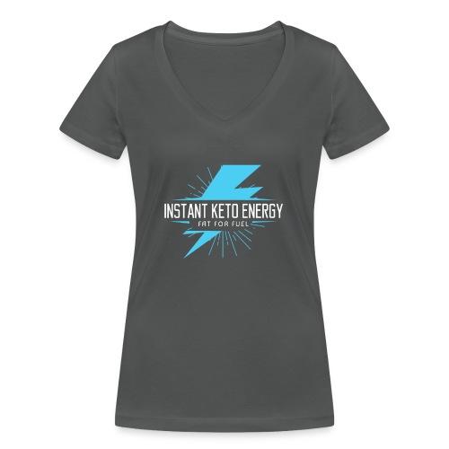KETONES - Instant Energy Tasse - Frauen Bio-T-Shirt mit V-Ausschnitt von Stanley & Stella