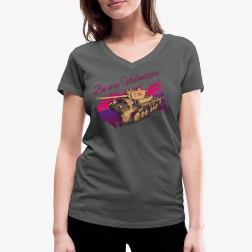 Be my Valentine Tank - Frauen Bio-T-Shirt mit V-Ausschnitt von Stanley & Stella