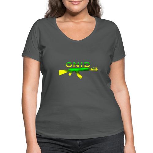 ONID-22 - T-shirt ecologica da donna con scollo a V di Stanley & Stella