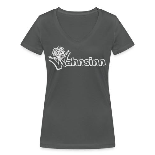 Wahnsinn Logo - Vrouwen bio T-shirt met V-hals van Stanley & Stella
